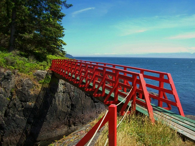 Red Bridge Sooke, British Columbia Canada