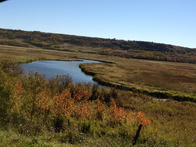 beautifull valley Southey, Saskatchewan Canada