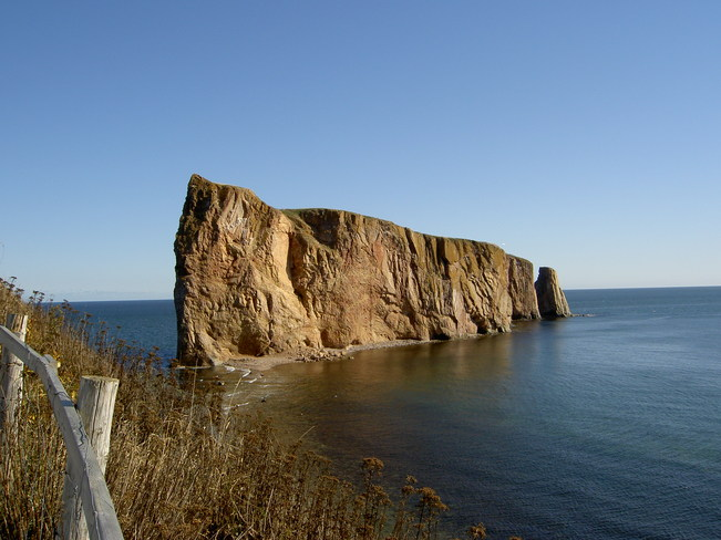 Perce Rock Percé, Quebec Canada