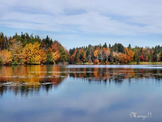Reflections of Autumn Tracadie-Sheila, New Brunswick Canada