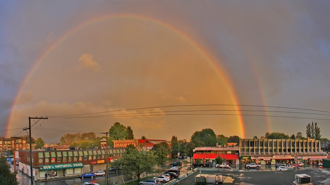 x2 Rainbow Port Coquitlam, British Columbia Canada