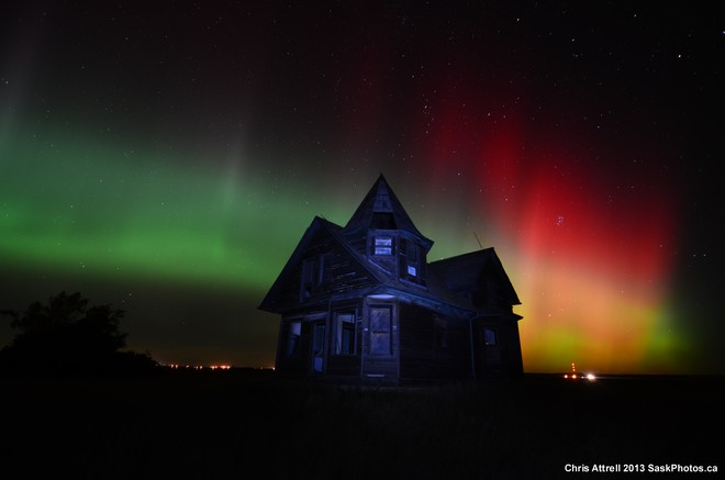 Shaunavon Northern Lights Shaunavon, Saskatchewan Canada