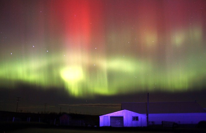 Northern Lights Ogema, Saskatchewan Canada