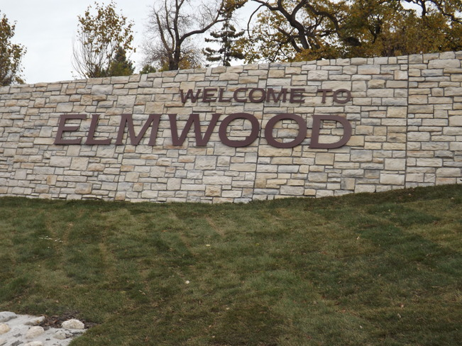 New welcoming sign for Elmwood Neighborhood