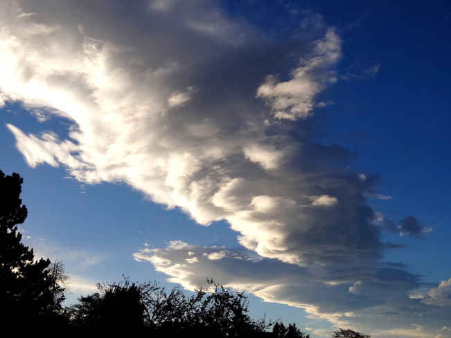 Interesting cloud formation Royston, British Columbia Canada
