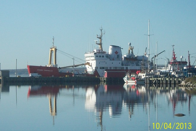 Canadian Coast Guard Shelburne, Nova Scotia Canada
