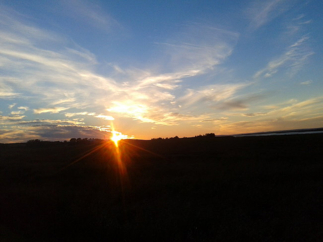Sunset on Cobequid Trail