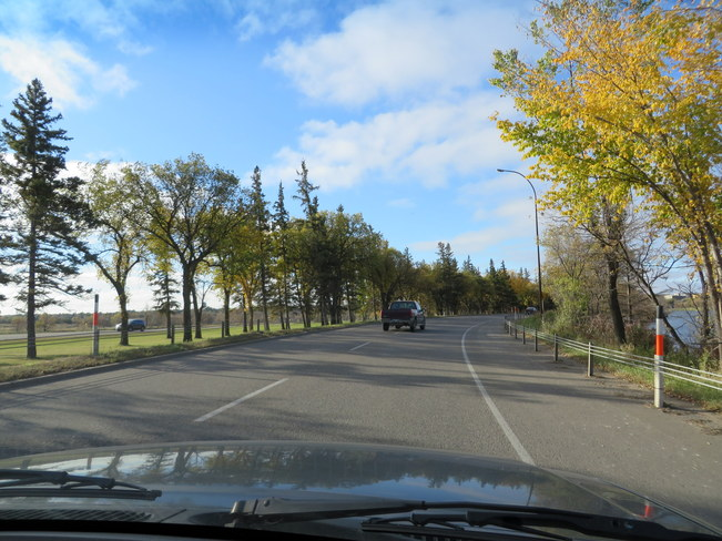 Around 1st Fall Colours Brandon, Manitoba Canada