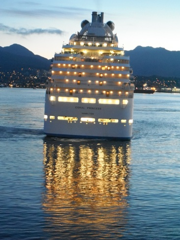 Reflections of Cruise Vancouver, British Columbia Canada