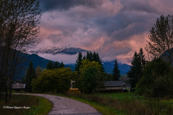Dawn Revelstoke, British Columbia Canada