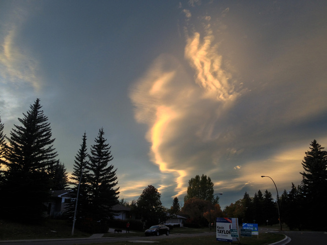 Another wow sunset Calgary, Alberta Canada