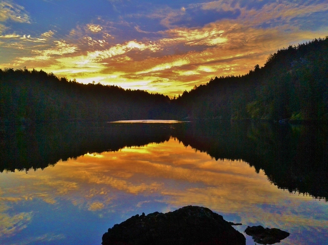 Morning in Roche Cove, East Sooke Sooke, British Columbia Canada