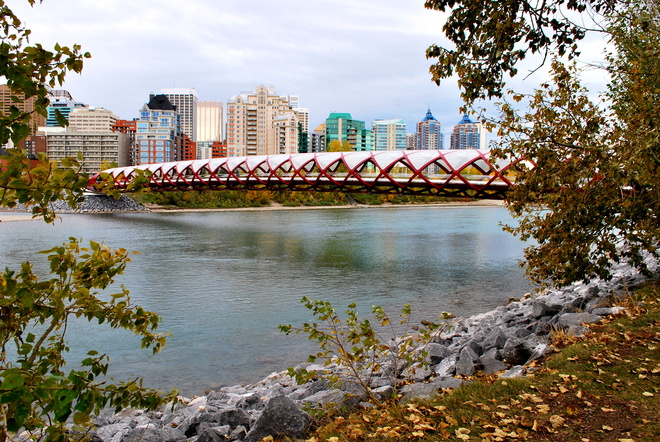 Peace Bridge Calgary, Alberta Canada