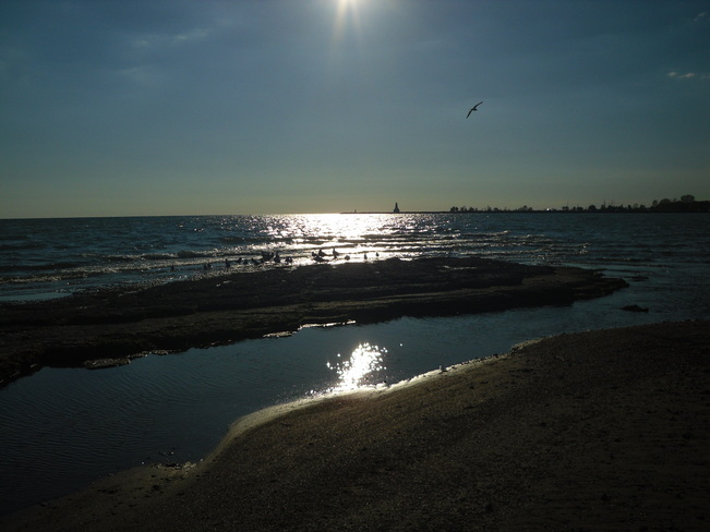 So nice over the water.. Cobourg, Ontario Canada