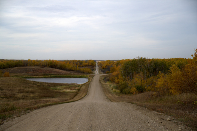 fall colors Humboldt, Saskatchewan Canada