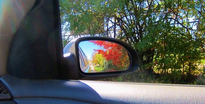 Mirror full of Color Orillia, Ontario Canada