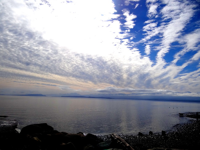 Beautiful skies Comox, British Columbia Canada