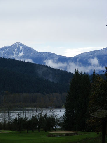 First Snow on the Mountains Mission, British Columbia Canada