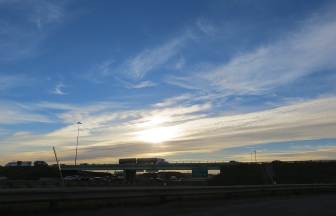 after work heading home Sherwood Park, Alberta Canada