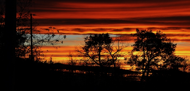 gorgeous sunset Wembley, Alberta Canada