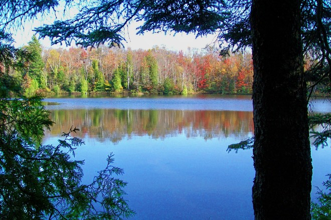 Frying Pan Lake in a Frame Saint John, New Brunswick Canada