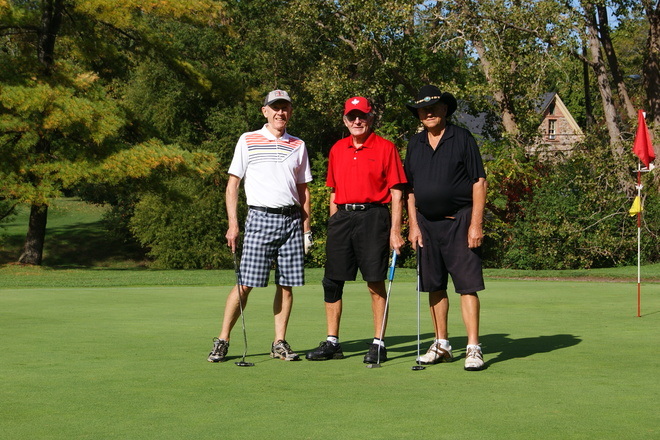 Golfing @ St. Davids Niagara On The Lake, Ontario Canada