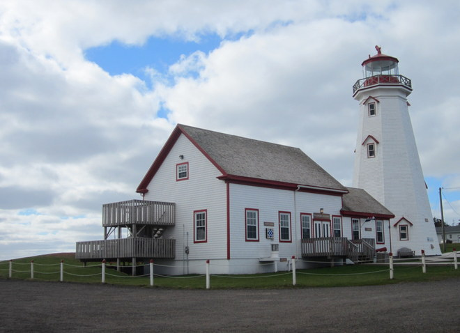 East Point Lighthouse East Point, Prince Edward Island Canada