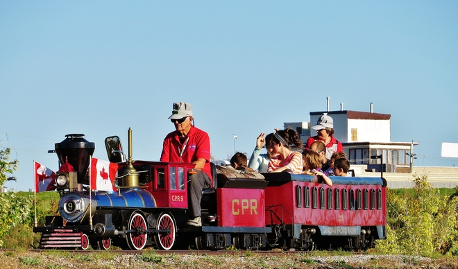 All aboard for the last weekend! North Bay, Ontario Canada