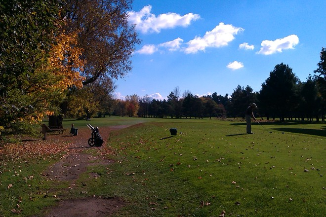 Thanksgiving Day Golf Ottawa, Ontario Canada