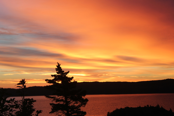 sunrise Norman's Cove-Long Cove, Newfoundland and Labrador Canada