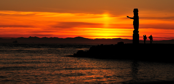 Amledide Sunset West Vancouver, British Columbia Canada