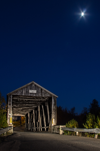 Canal Covered Bridge Saint Andrews, New Brunswick Canada
