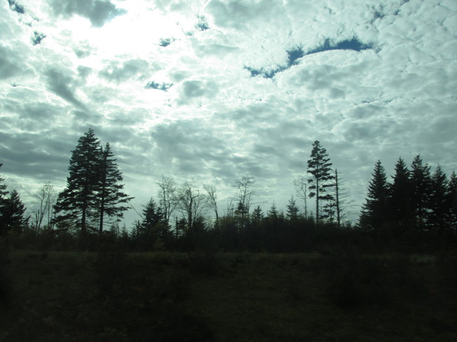 Awesome sky 3pm Sackville, New Brunswick Canada