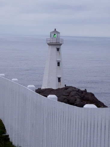 Cape Spear Lighthouse St. John's, Newfoundland and Labrador Canada