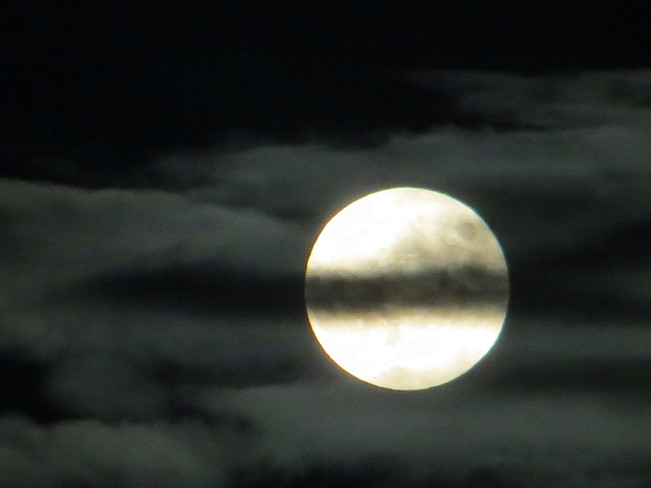Full Moon Tracy, New Brunswick Canada