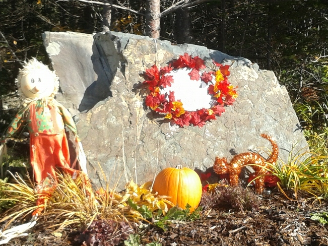 Halloween Display! Conception Bay South, Newfoundland and Labrador Canada