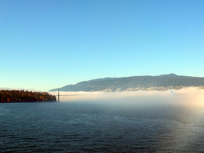 Fog'n Sky Richmond, British Columbia Canada