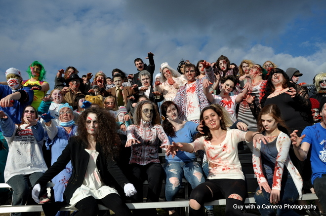 Zombies were alive in Grand Falls-Windsor today Grand Falls-Windsor, Newfoundland and Labrador Canada