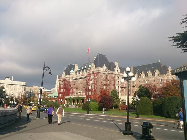 Empress Clouds Approaching Victoria, British Columbia Canada