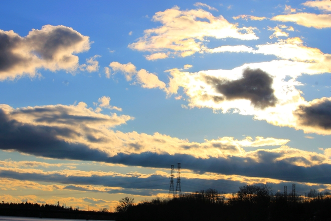 The Sun Can't Hide Laval, Quebec Canada