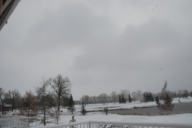 Major October Snowfall High River, Alberta Canada