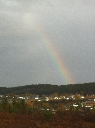 Rainbow over Shearstown
