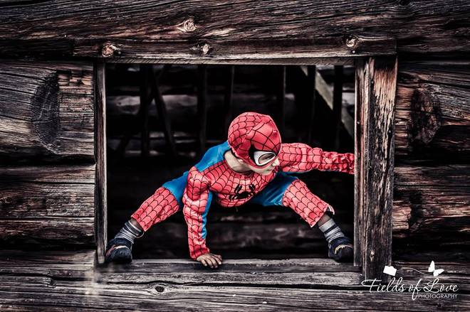 Spiderman has been spotted Kamloops, British Columbia Canada