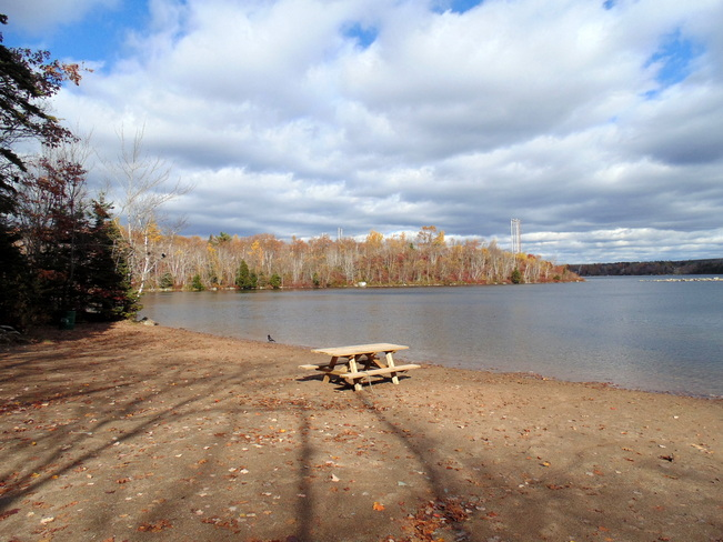 Sunny Fall Day at the Lake Dartmouth, Nova Scotia Canada