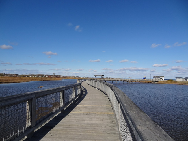 Boardwalk Beresford, New Brunswick Canada