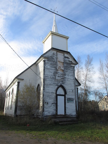 Old church of past days still stands Riverview, New Brunswick Canada