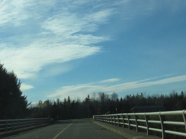 Turtle Creek Road... sun was out of sight Riverview, New Brunswick Canada