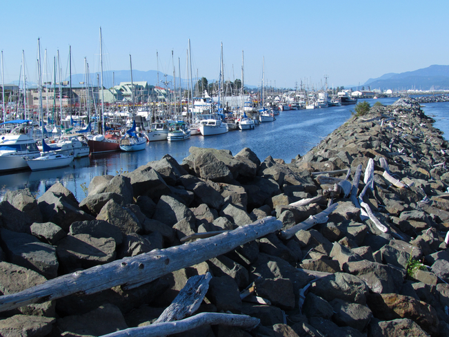 campbell river docks Abbotsford, British Columbia Canada