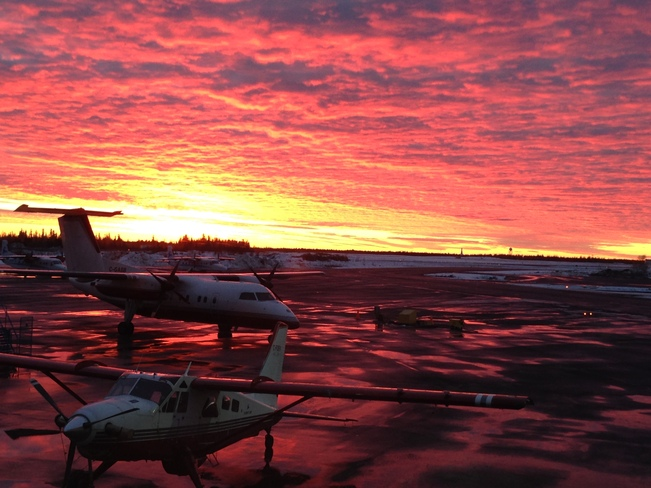 It's going to be a nice day tomorrow Yellowknife, Northwest Territories Canada