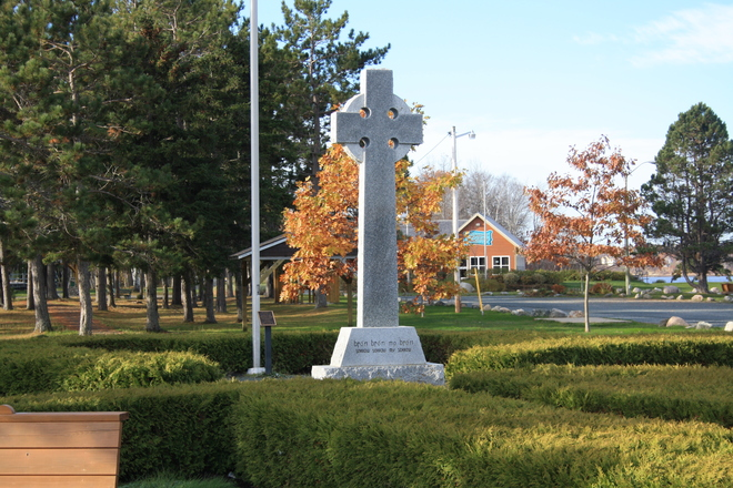 Celtic Cross Miramichi, New Brunswick Canada